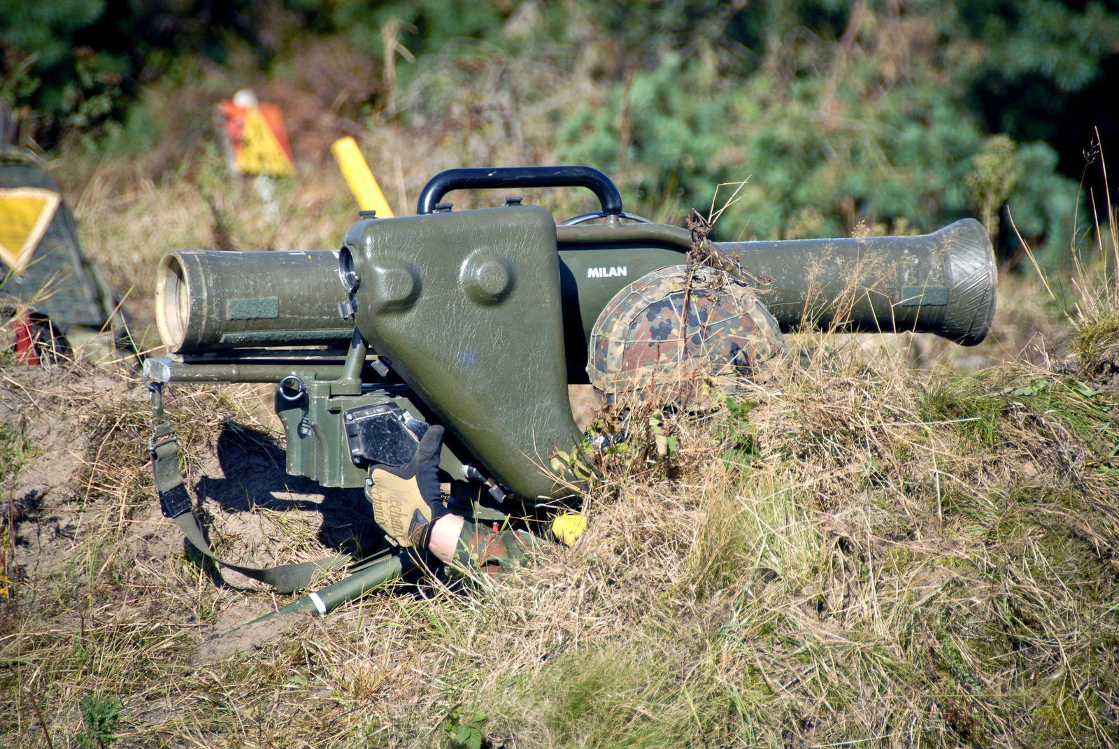 Panzerabwehrwaffe Milan