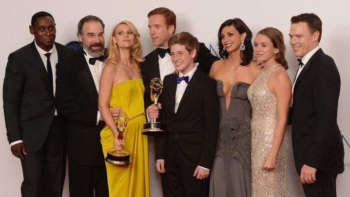 """Emmy Awards: Triumph für """"Homeland"""""""