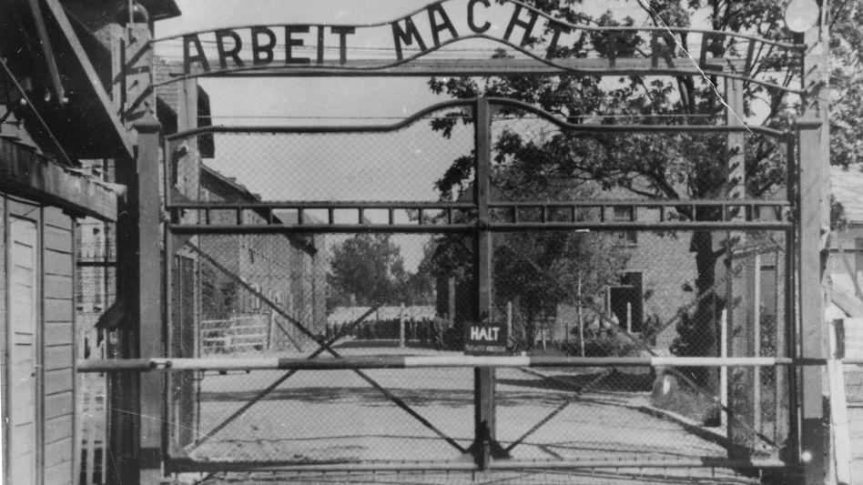 Tor im KZ Auschwitz: Mutmaßlicher Wachmann wieder frei