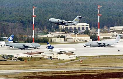 US-Basis Ramstein: Drehkreuz auf dem Weg in die CIA-Geheimgefängnisse