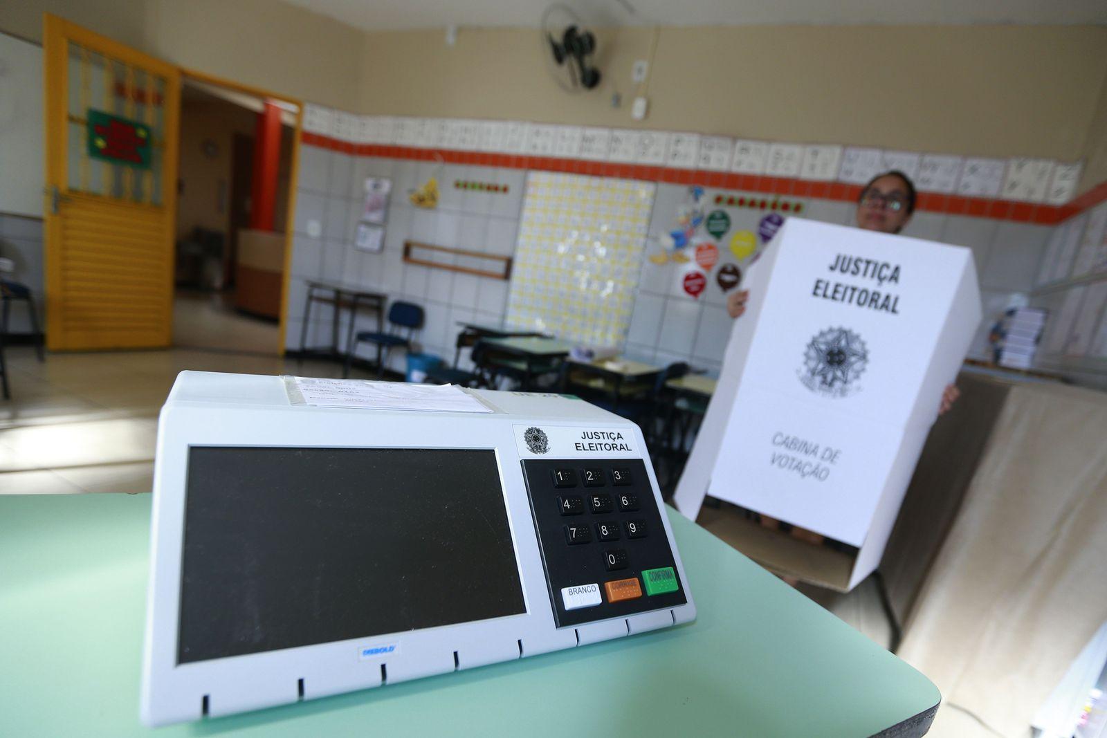 elektronische Wahlurne/ Brasilien/