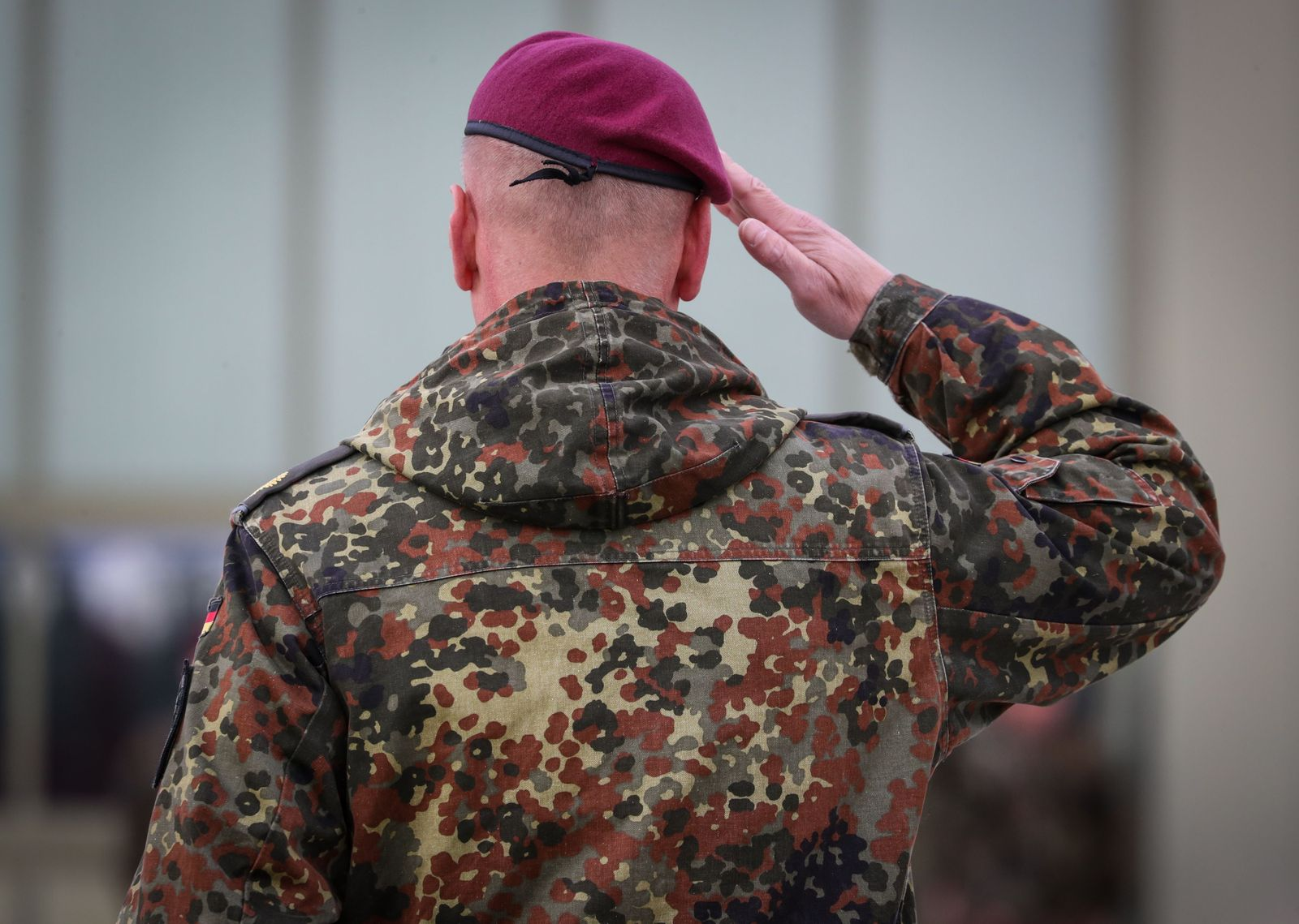 Farewell muster for 10th Germany Transport Helicopter Regiment, Fassberg - 16 Oct 2020