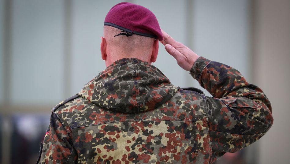 Bundeswehroffizier (Symbolbild)