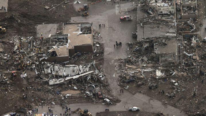 Moore: Luftbilder der Tornado-Katastrophe