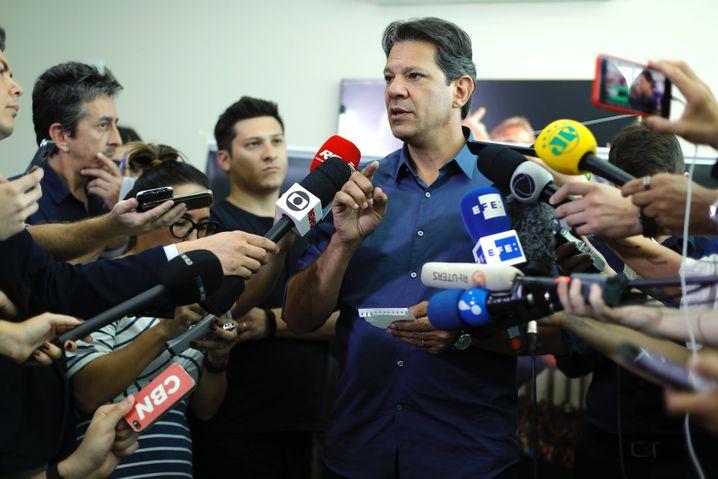 Bolsonaros Konkurrent Fernando Haddad