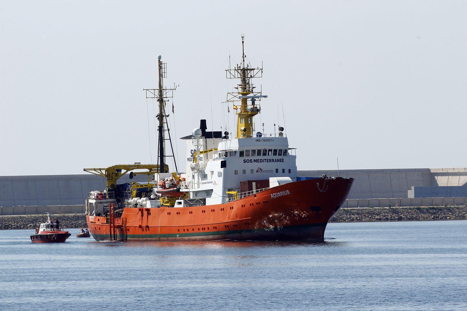 Schiff «Aquarius»