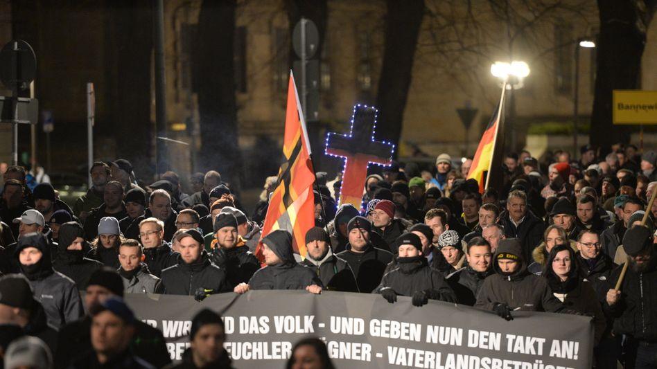 Islamfeindliche Pegida-Demo: Wie tolerant ist Deutschland