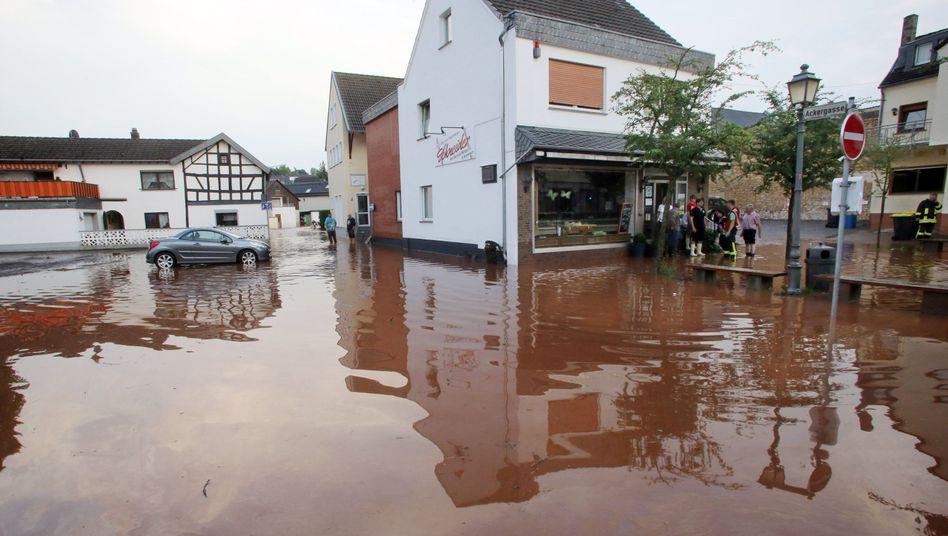 Überschwemmung in Nordrhein-Westfalen