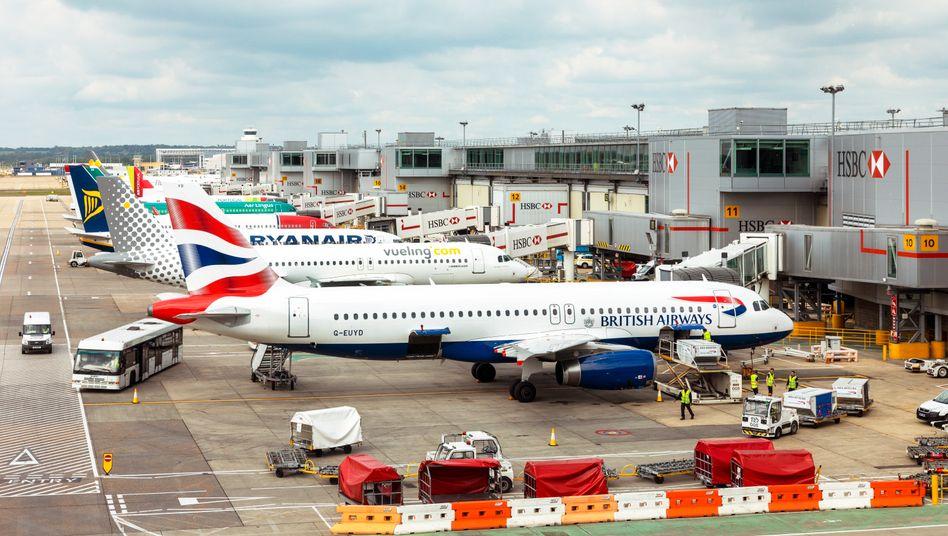 Flughafen Gatwick: Keine Flüge mehr nach Deutschland?