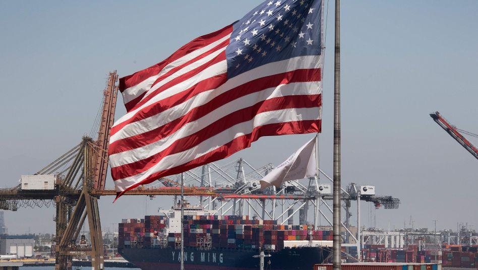 Hafen von Long Beach, Kalifornien: Die USA bestätigten eine Einigung im Handelsstreit