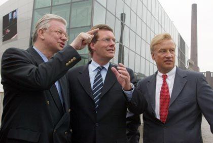 Ministerpräsidenten Koch, Wulff, Bürgermeister von Beust: Wohin steuert die CDU bei den Wahlen?
