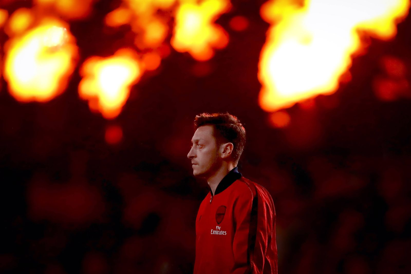 January 21, 2020, London, United Kingdom: Mesut Ozil of Arsenal during the Premier League match between Chelsea and Ars