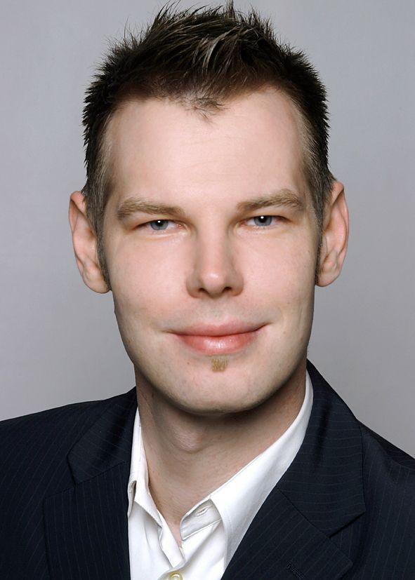 """Marc Schlichtmann, 35, war 2008 """"Deutschlands beste Sekretärin"""""""