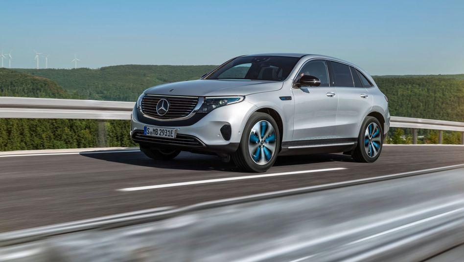 Elektroauto Mercedes EQC