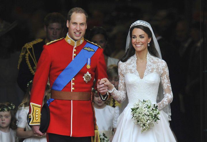 Hochzeit am 29. April 2011: Das perfekte Paar William und Kate