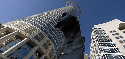 Zentrale der DZ Bank: Belastungen in Höhe von vier Milliarden Euro