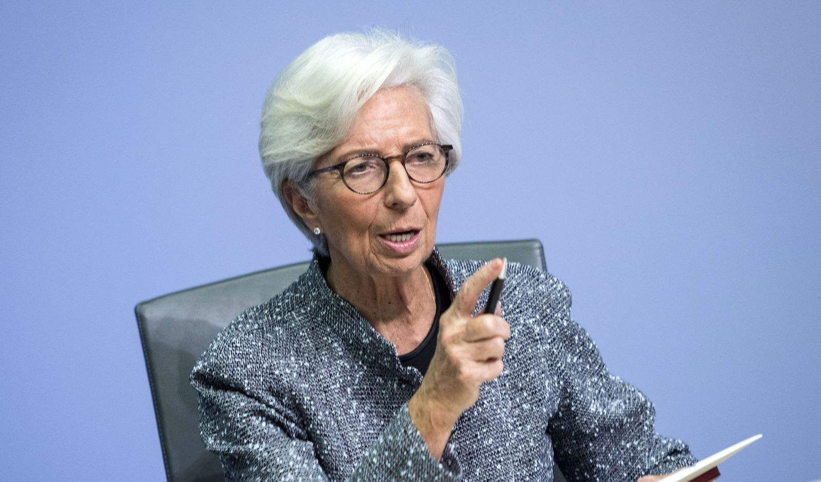 Christine Lagarde Speaks Following ECB Meeting As Coronavirus Spreads