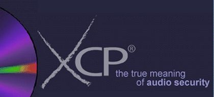 """XCP-Logo: """"the true meaning of audio security"""""""