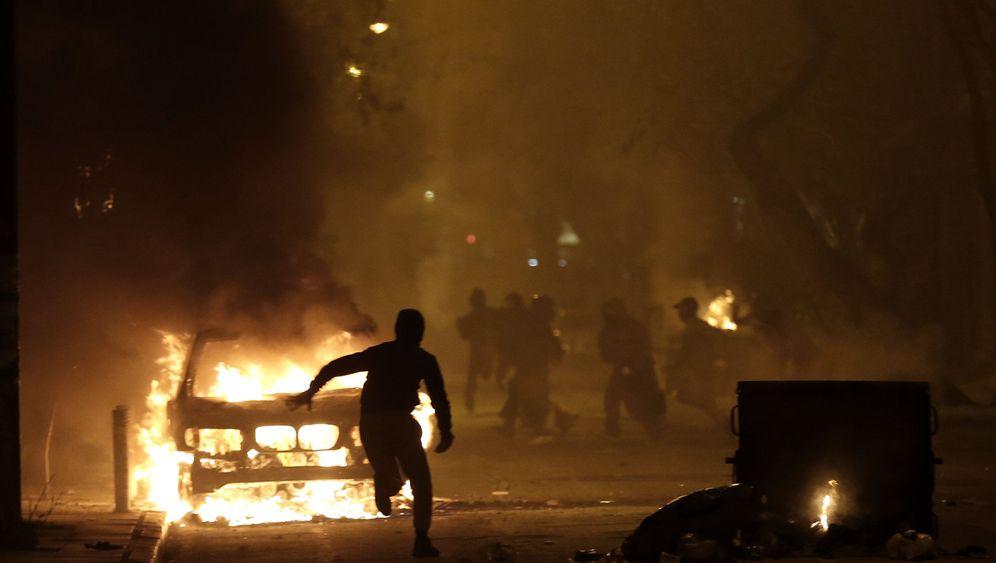 Randale in Griechenland: Krawallnacht in Athen