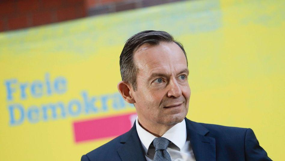 """Neuer FDP-Generalsekretär Volker Wissing (auf dem Parteitag im September 2020): """"Es ist wichtig, die Pandemie unter Kontrolle zu bringen"""""""