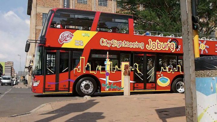 Johannesburg: Sightseeing im Doppeldeckerbus