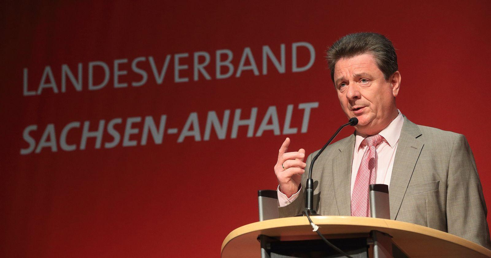 SPD-Landesparteitag in Sachsen-Anhalt