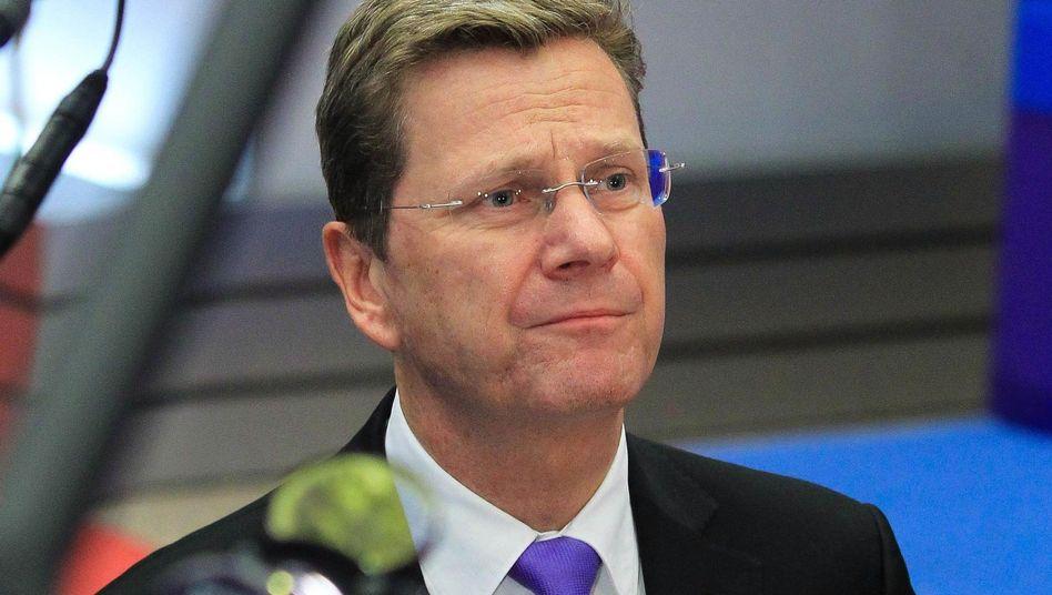 Westerwelle: Europas Außenminister stecken im Dilemma