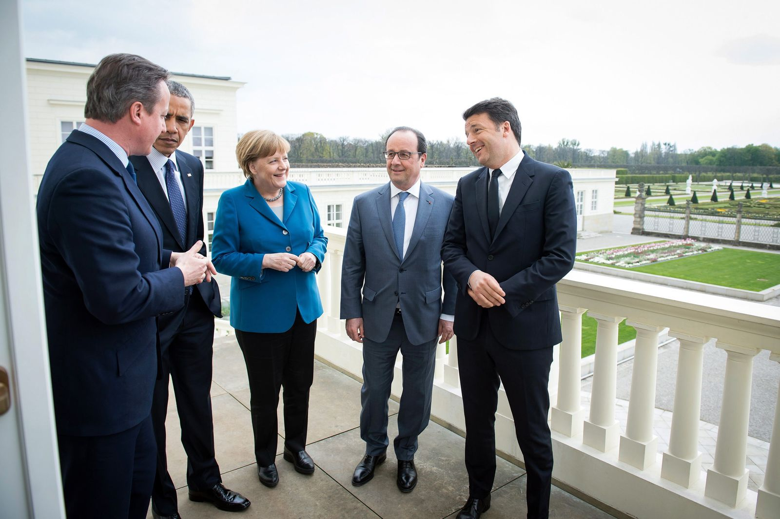 Political summit in Hanover