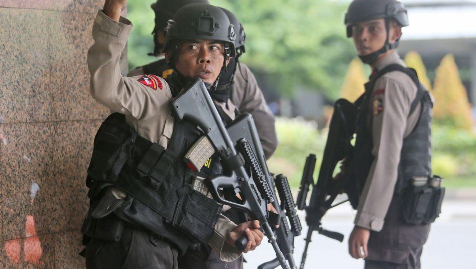 Terror in Indonesien: IS bekennt sich zum Anschlag in Jakarta