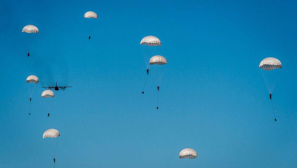 A NATO exercise near Torun, Poland in June.