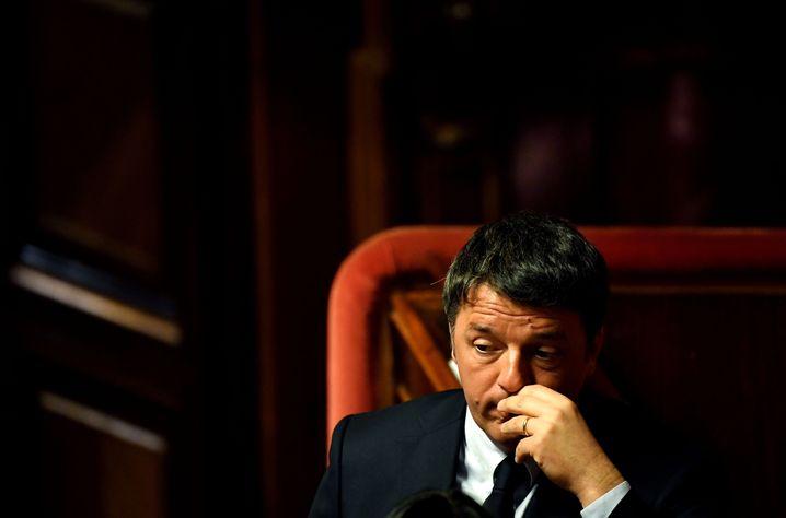 Ehemaliger PD-Chef Matteo Renzi