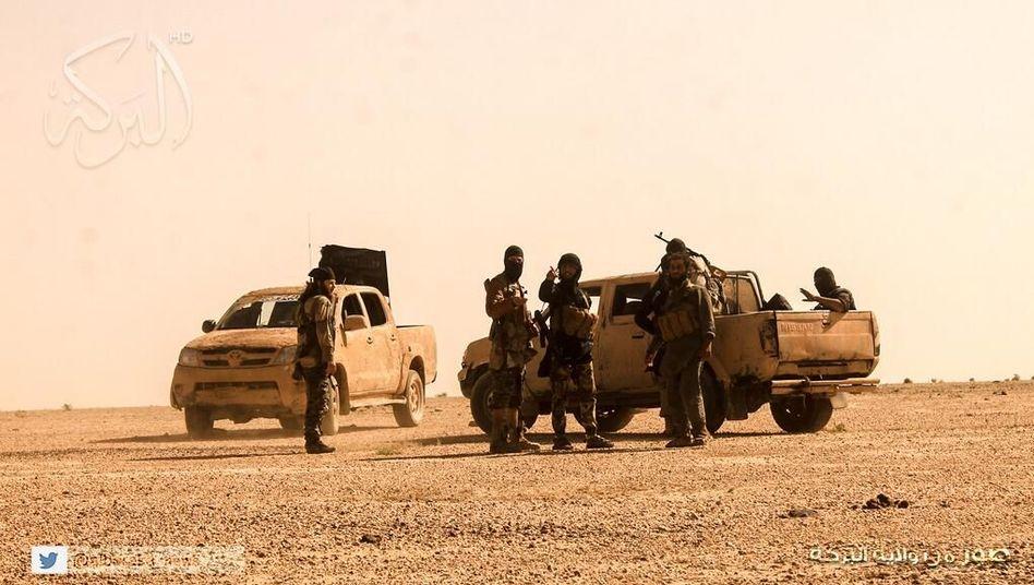 Isis-Kämpfer im Irak: Werbevideos wie Actionfilme