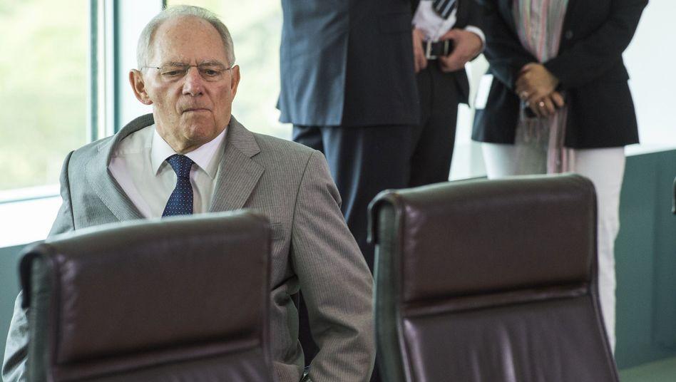 """Wolfgang Schäuble: """"Auch einmal unterschiedliche Meinungen"""""""