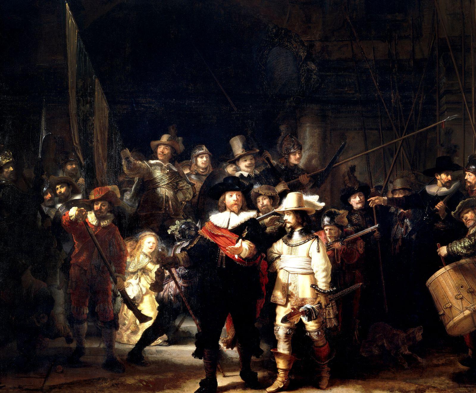 EINMALIGE VERWENDUNG Rembrandt/ Nachtwache