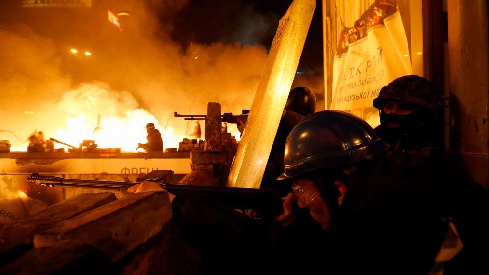 Ukraine: Straßenschlachten in Kiew
