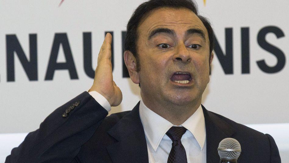 Carlos Ghosn, früherer Verwaltungsratschef des Renault-Partners Nissan