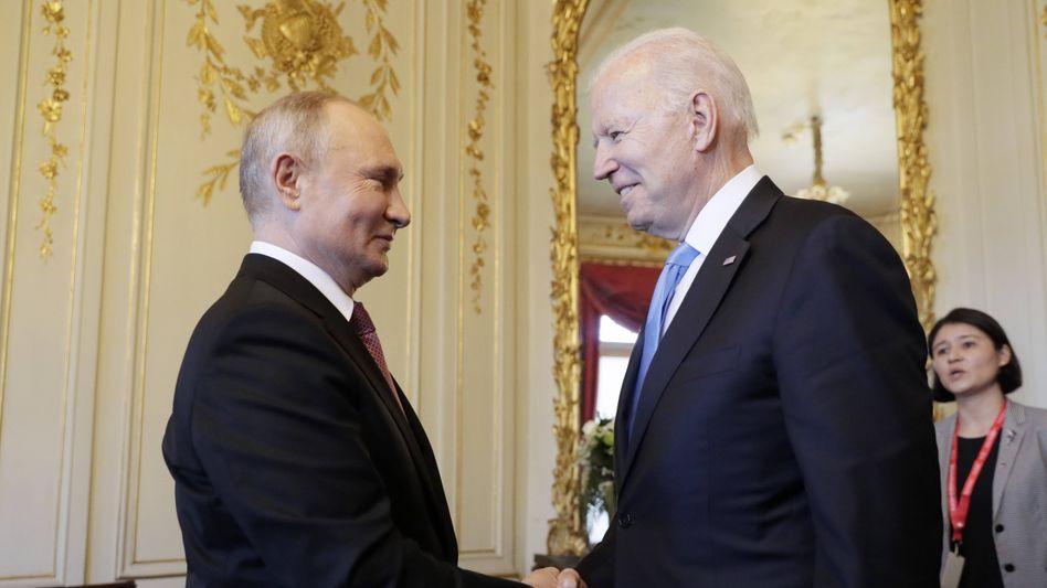 Wladimir Putin und Joe Biden: »Es geht um eigene Interessen«