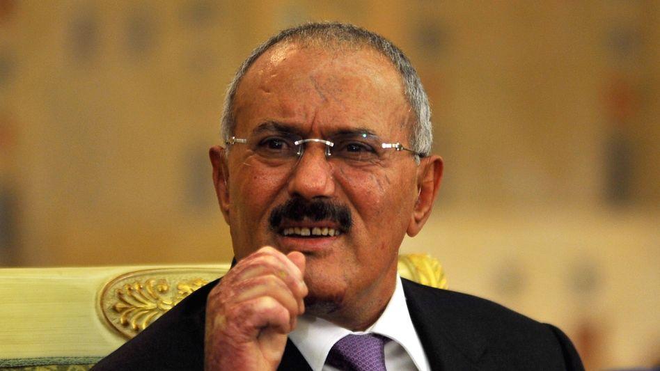 Machthaber Salih: Rückug gegen Straffreiheit