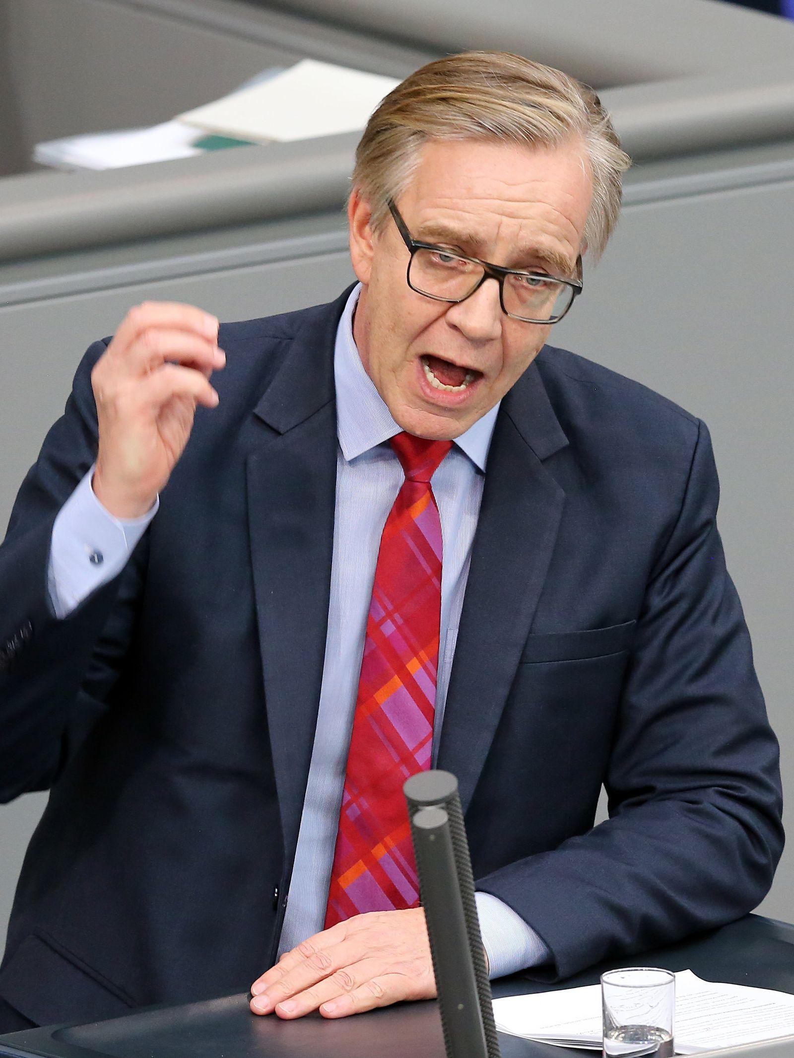 Regierungserklärung/ Bundestag/ Dietmar Bartsch