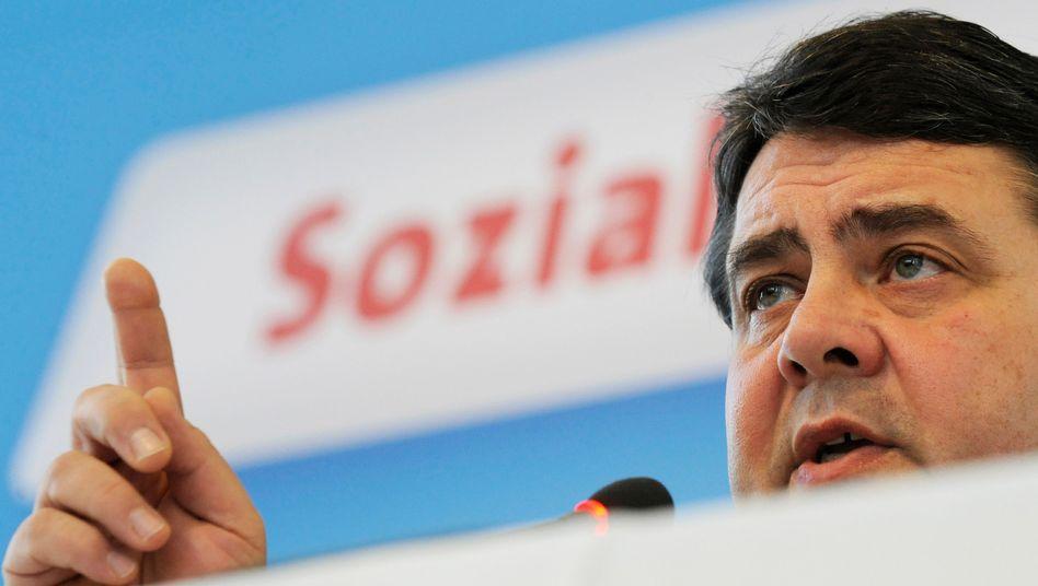 SPD-Chef Gabriel: Einige Wahlerfolge - aber wird es je wieder zur alten Größe reichen?