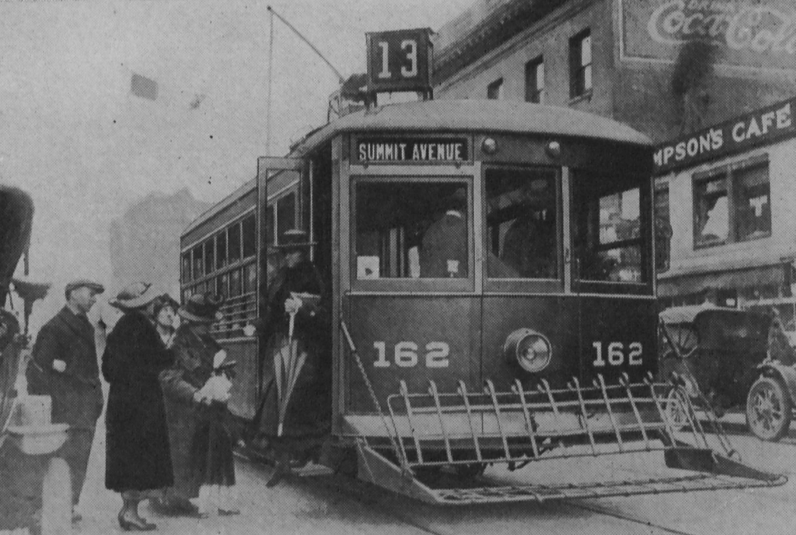 Westinghouse Electric And Manufacturing Company's Safety Car, Number 162, In Seattle, Washington