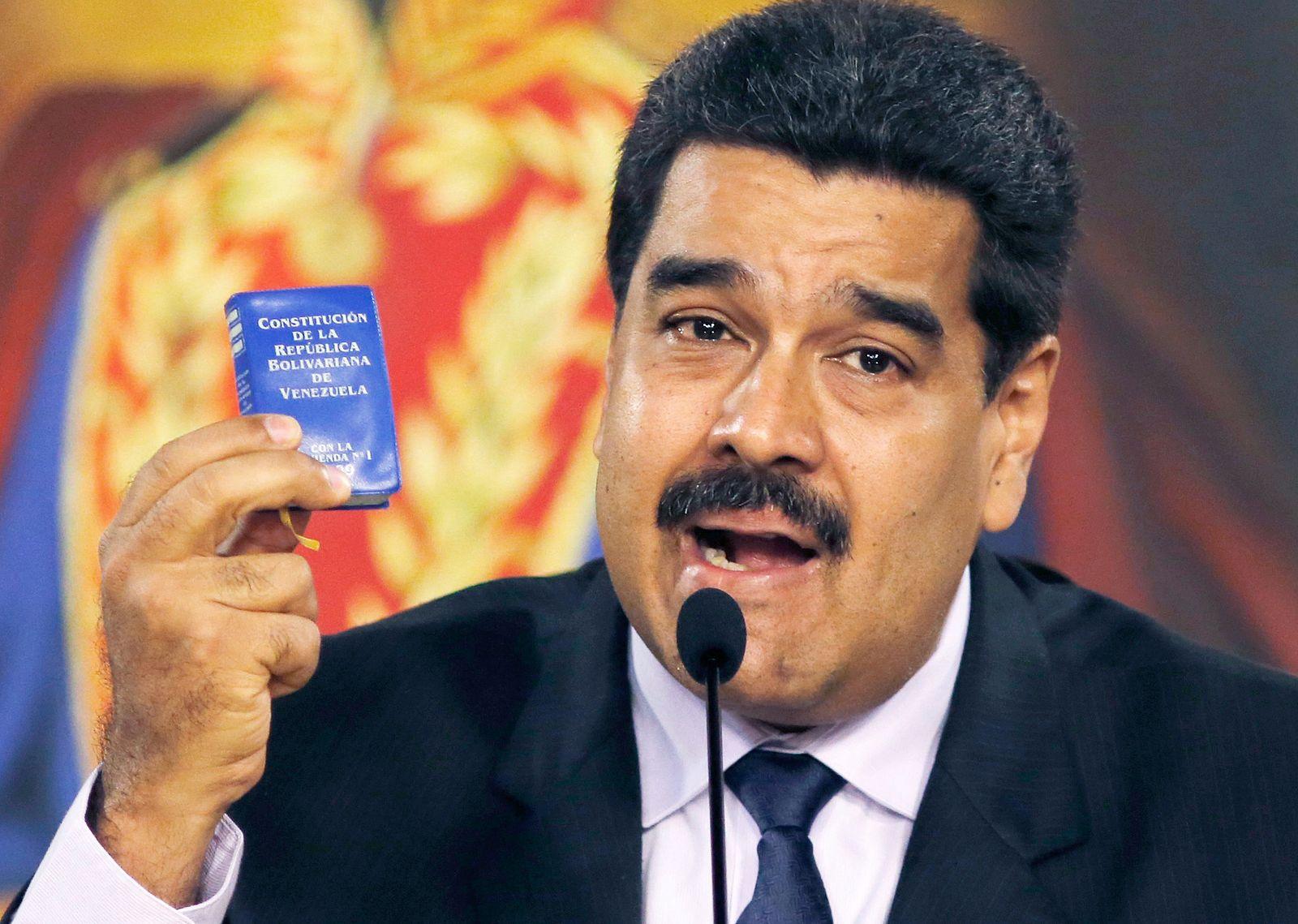Venezuela/ Verfassung/ Maduro