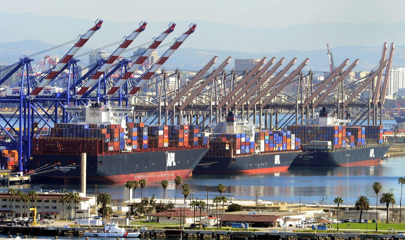 Los Angeles Hafen