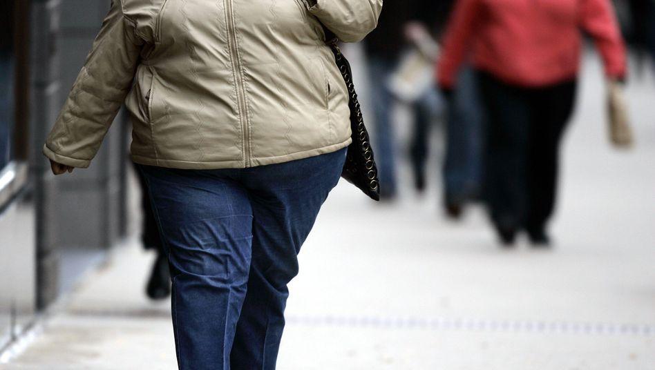 Fettleibige Menschen in den USA: Anfällig für geistigen Niedergang