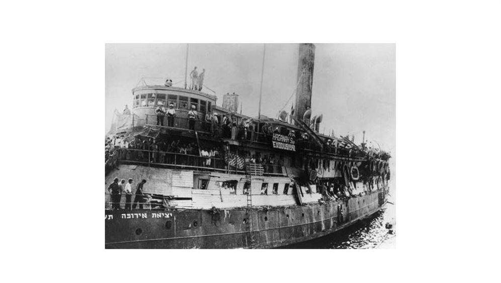 """Flüchtlingsschiff """"Exodus"""": Aus der Hölle in den Alptraum"""