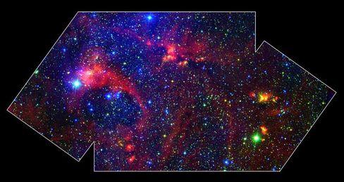 """Milchstraßen-Region DR21: """"Die Existenz von Materie ist ein Wunder"""""""