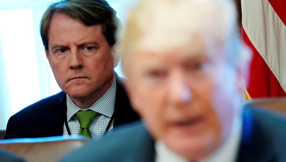Don McGahn: Nicht in der Macht des Präsidenten, Aussage zu unterbinden