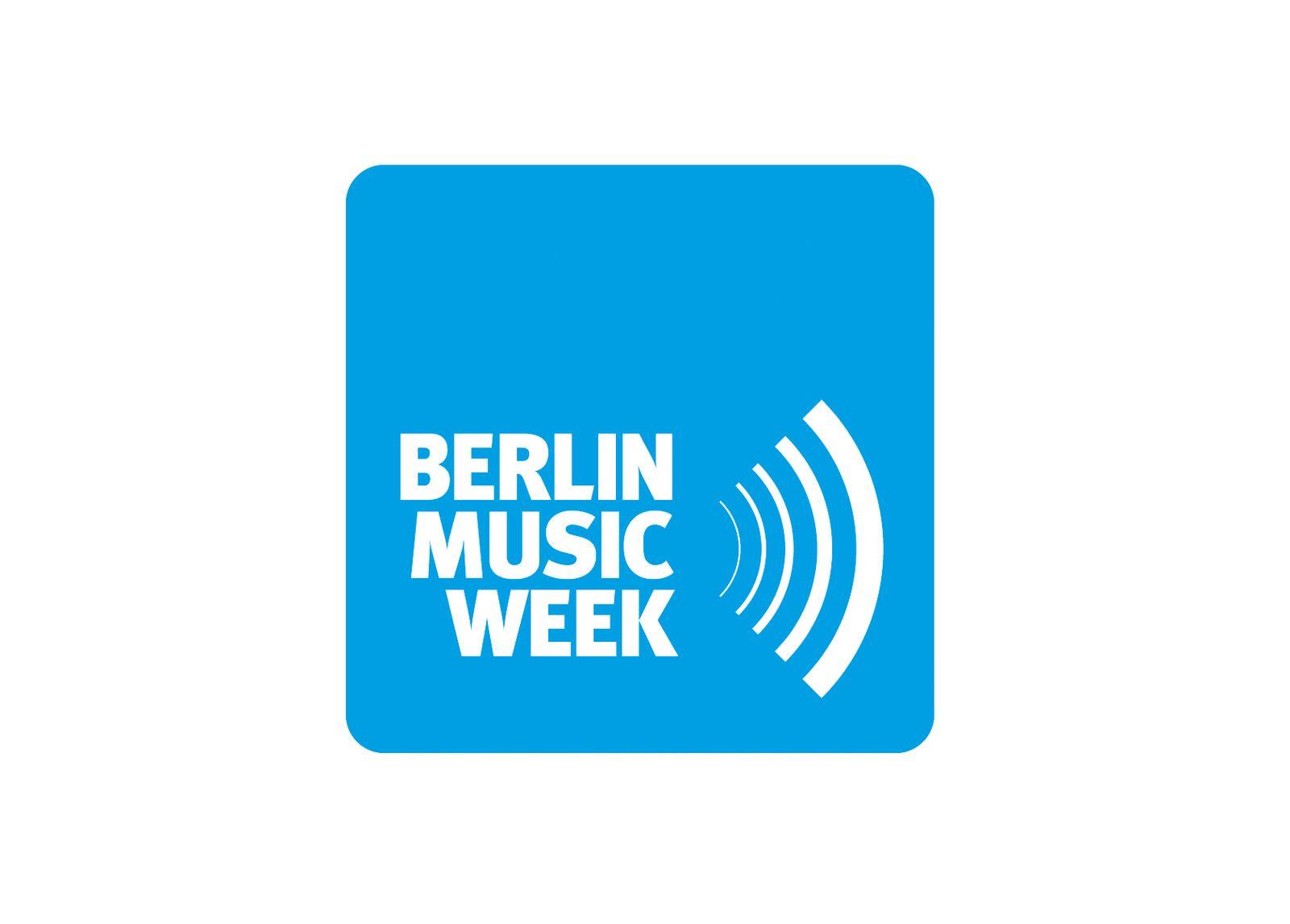 EINMALIGE VERWENDUNG Berlin Music Week/ Logo