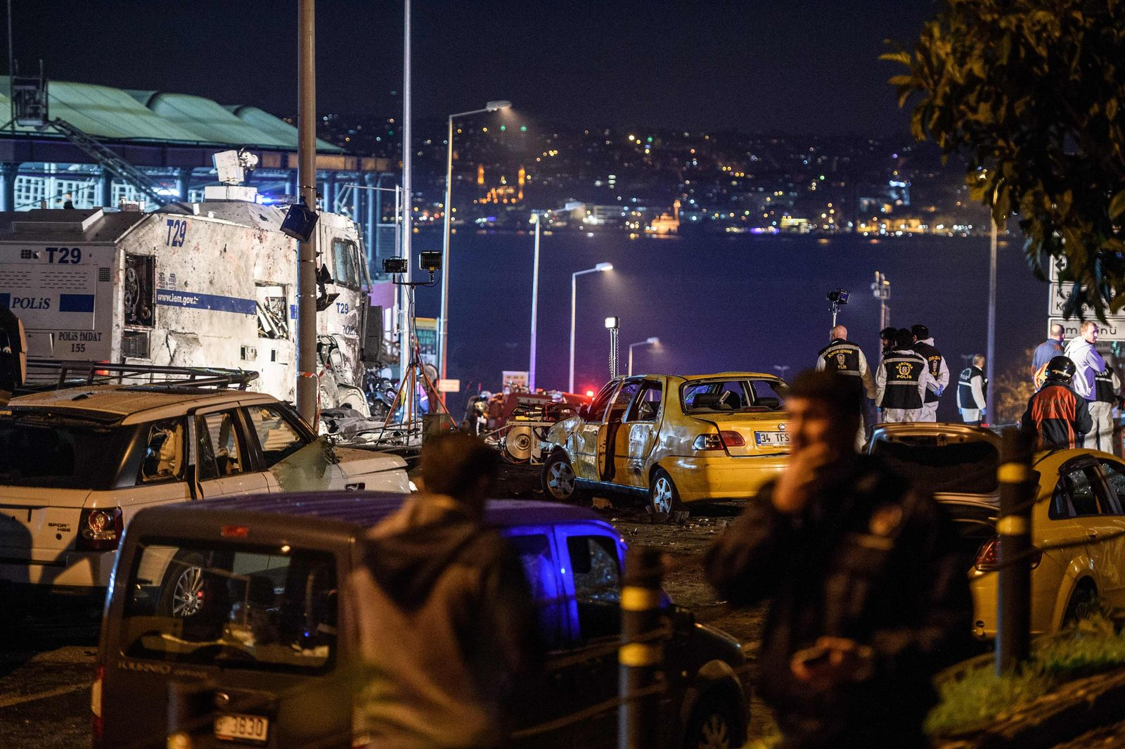 Istanbul/ Attentat/ Explosion
