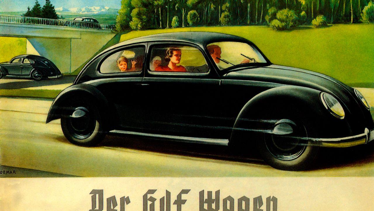 """Vom """"KdF-Wagen"""" zum Käfer: Warum Kleinsparer VW verklagten - DER SPIEGEL"""